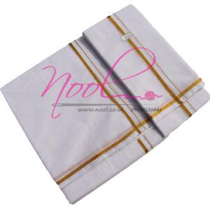 Dhoti-White-Cotton-8-Mulam-10-Kuli-Handloom-Zari-Border-Bleached-DHO.46