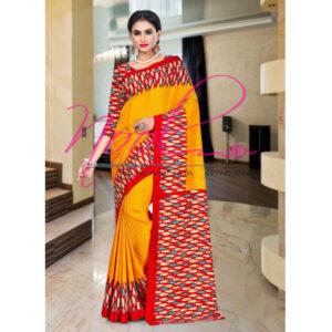 Buy-Sari-Online-at-Low-Best-Price-Printed-Crepe-Malbari-Silk-Yellow-SAR.2